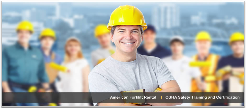 Forklift and lift training, rental, sales and repair in Orlando, FL.